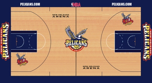Possible court design. (Image by forums.realgm.com)