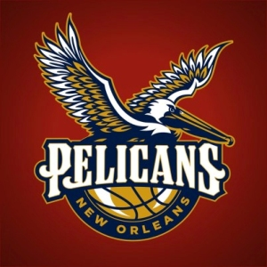 Proposed Pelicans logo. (Image from theticket.com)