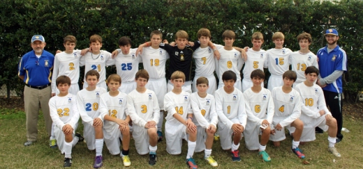 8th grade soccer team