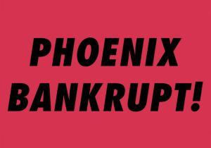 "Tentative cover of ""Bankrupt!"""