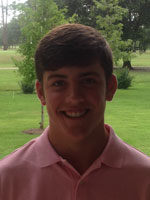 Pictured is SPS junior and founder of the charity, Birdies for Charity, Beau Briggs.