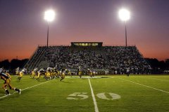 Jack Salter Stadium during the SPS/Covington game in 2013. (Photo by David Grunfield)