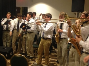 The St. Paul's Band playing at the Huether Conference