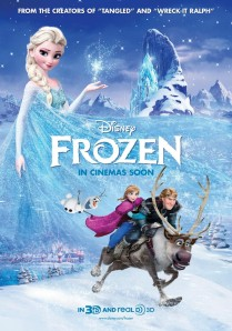 "Movie poster for ""Frozen"""