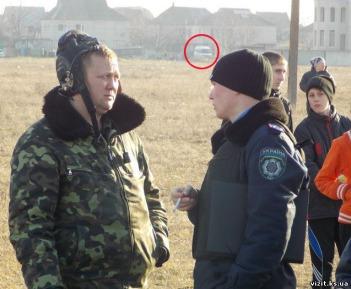 Ukranian native, Yana Obolenskaya-Moran pictured with her husband, SPS Band Director Andrew Moran.