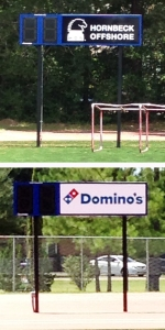 New time clocks were also added to the field, courtesy of Hornbeck Offshore and Dominoes Pizza.