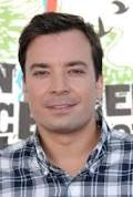 Jimmy Fallon is the current host of the tonight show, and at times he resembles the show's original host, Johnny Carson.