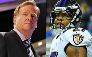 The SPS community weighs in on the Goodell/Rice controversy. (photo credit: AP)
