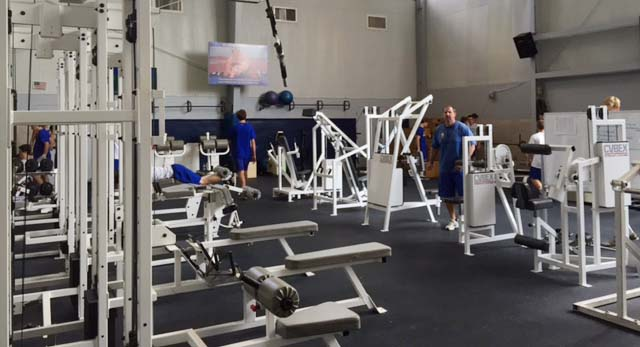St paul s new gym nearing completion the paper wolf
