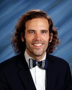 Theology teacher Austin Ashcraft (photo: Conifer)