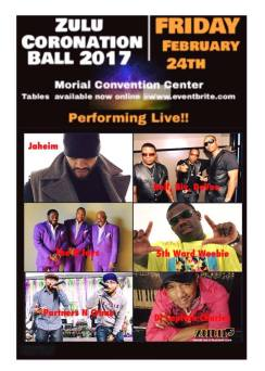 The Morial Convention Center will be packed on Friday, Feb. 24, 2017 as multiple acts headlined by the O'Jays take the stage at the Zulu Coronation Ball. (Photo by Zulu SAP Facebook Page)