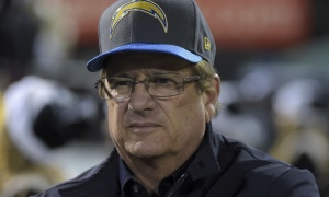 Chargers owner Dean Spanos signed the letter to send the Chargers back to LA. (Photo: USA Today Sports http://thebiglead.com/2017/01/12/hey-dean-spanos-get-out-of-my-town-and-never-come-back/ )