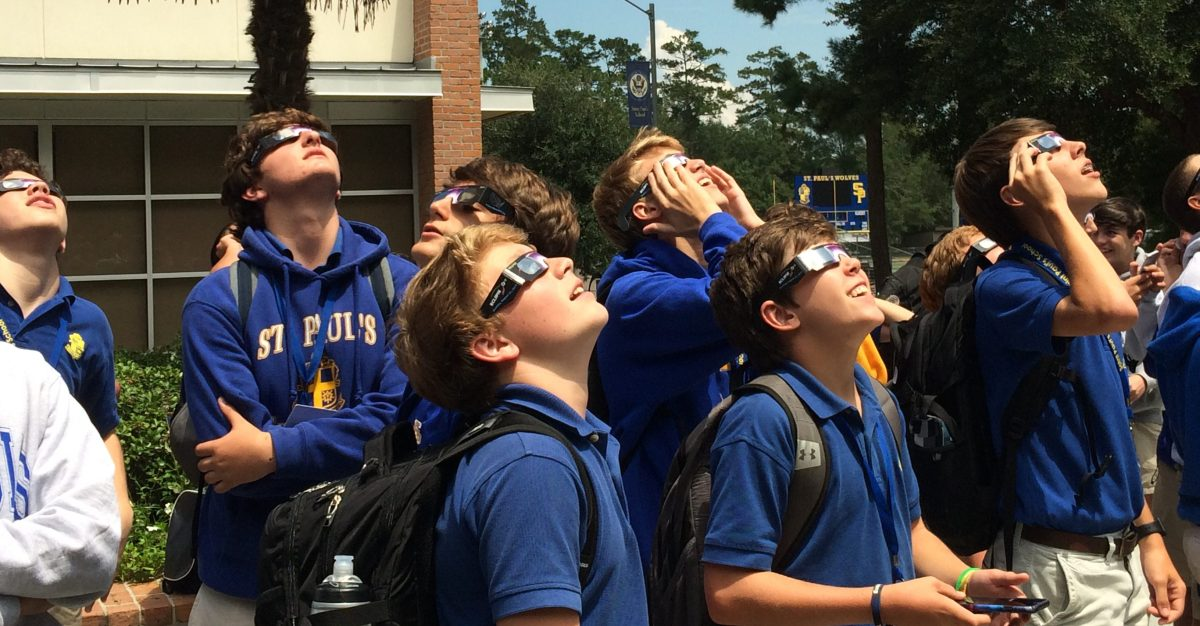 'Great American Eclipse' Casts Shadow Over St. Paul's