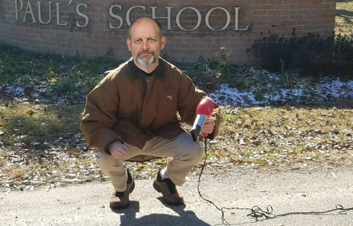 CRY WOLF: Watkins Seen Frantically Blow Drying Roads Around SPS in Attempt to Keep School Open [satire]