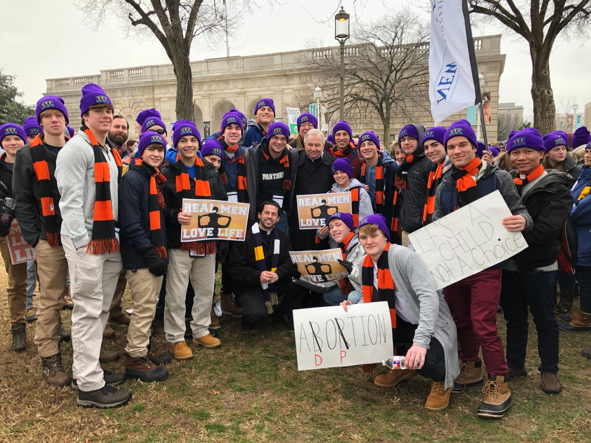 SPS Students Travel to Washington D.C. for March For Life 2019