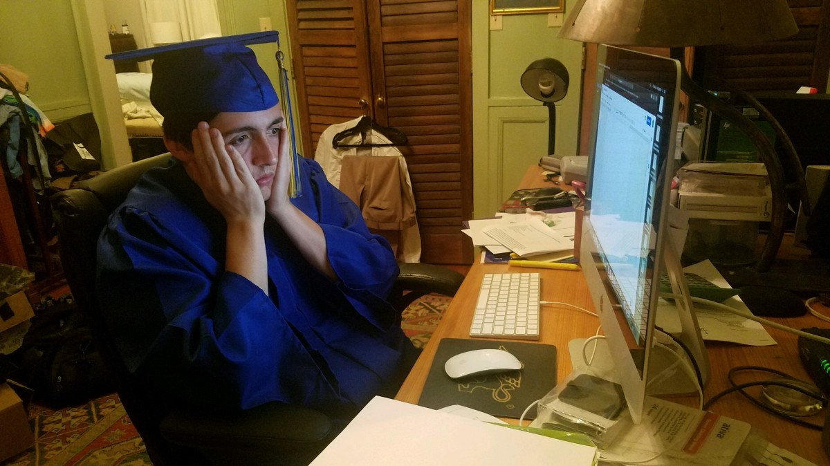 [satire] CRY WOLF: Satirical News Writer Runs Out of Ideas Just in Time for Graduation